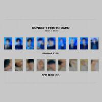 SF9 - 7TH MINI ALBUM RPM CONCEPT PHOTO CARD TAEYANG DAWON HWIYOUNG INSEONG ZUHO
