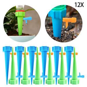 12x Bewässerungssystem Wasserspender Pflanzen Automatisch Topfpflanzen Blumen