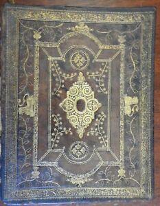 Johan de Witt letters Dutch Holland 1724 splendid decorative leather binding
