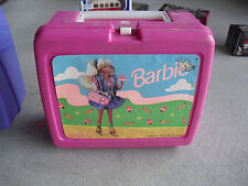 Modern 1990 Plastic Barbie Lunch Box LOOK