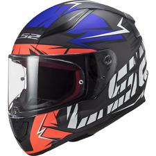 LS2 FF353 RAPID CROMO MATT FLUO ORANGE BLUE Motorcycle Helmet