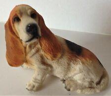 Basset Hound Dog Figurine Figure