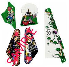 The Addams Family Pinball 5 piece plastics. New. Free Shipping.