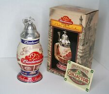 Vintage Budweiser A Tradition in Brewing Excellence Stein - CS496 Artist Signed