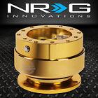 Universal Nrg Steering Wheel 6-hole Gen 2.0 Quick Release Adaptor Chrome Gold