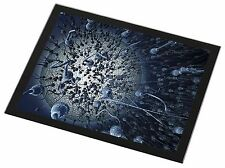Racing Sperms-No Condoms Needed! Black Rim Glass Placemat Animal Table , SpermGP
