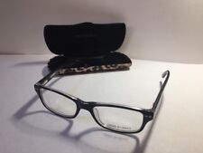 Corinne McCormack Rivington Black Glasses Frames w Demo Lenses Hard Case & cloth
