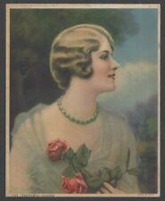 "Youthful Charm 1920s Glamour Girl art deco print 4"" x 5"""