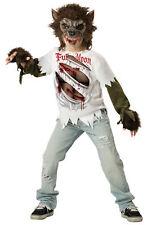 Werewolf Child Boys Scary Halloween Costume Fancy Dress Up