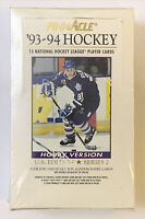 Rare 1993-94 PINNACLE American Sealed Hockey Series 2 Hobby Box