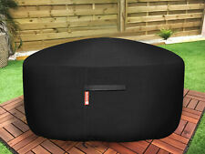 """New listing 30"""" Waterproof Heavy Duty Patio Round Fire Pit Cover Bbq Grill Uv Protector 300D"""