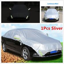 1Pcs Sliver Off-road Car Outdoor Rain Sun Proof Shade Half Cover W/Reflective