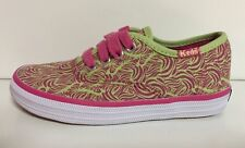 NEW Keds Girls Toddler Canvas Fashion Shoes Size 8 Toddler Green Pink White