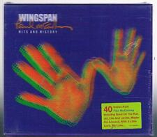 PAUL McCARTNEY WINGSPAN HITS AND HISTOIRE 2 CD COVER 3D F.C. BEATLES scellé