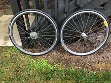 Shimano Dura Ace wheels.