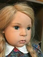 Sigikid Doll Heike Sabine Esche Doll West Germany Ltd Ed. Real Hair #15/1500