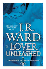 J.R. WARD BOOK LOVER UNLEASHED THE BLACK DAGGER BROTHERHOOD 2011 HARDCOVER