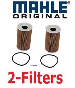 2x Mahle Oil Filter Porsche 911 Boxster Cayman Cayenne  Carrera GT