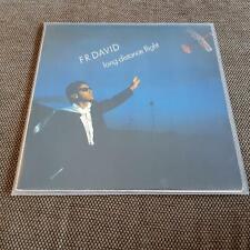 F.R. David - Long distance flight Vinyl LP Germany