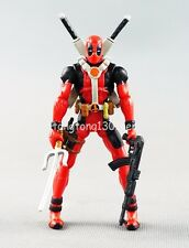 Comics Series X-Men Legends 3.75 inch Red Deadpool Loose Figure Toys