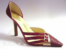 January's Jewel 3 Garnet Colored Birthstones Just the Right Shoe Happy Birthday!