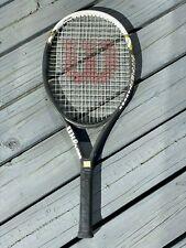 New listing WILSON Hyper Hammer 5.3 Tennis Racquet Head Size 110, Grip 4 3/8