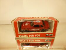 POLISTIL E2010TOYOTA CELICA GT - RED 1:40 - VERY GOOD CONDITION IN BOX