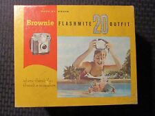 Vintage Eastman KODAK Brownie Flashmite 20 Outfit in Box #47H - Untested