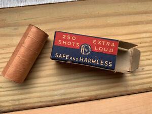 Vintage Superb Brand, Halco, repeating paper caps for Western cap gun, 5 rolls
