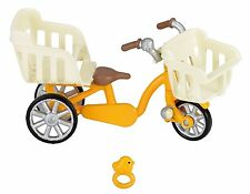 Sylvanian Families Doll Accessory three people riding bicycle From Japan