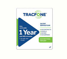 TracFone 1 Year Plan 365 Days and 400 Minutes Promo