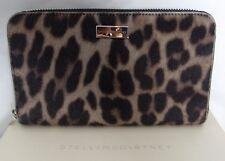 Authentic stella mccartney leopard portefeuille/sac à main neuf