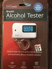 BACtrack Breath Alcohol Tester Keychain Breathalyzer White Mouthpiece BT-KC20