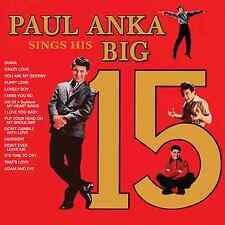 Paul Anka – Paul Anka Sings His Big 15 CD