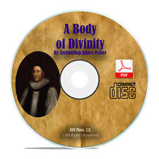 Body of Divinity, by James Ussher, Christian Bible Theology Study Book CD H18