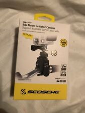 [New] Scosche Handlebar Bicycle Mount For GoPro Cameras