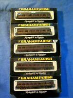 N Scale Graham Farish 5 car Passenger set  in Box Made in England