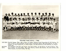 1966 TOLEDO MUD HENS TEAM 8X10  PHOTO YANKEES MURCER OHIO NEW YORK BASEBALL USA
