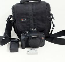 Canon EOS Rebel T3i 600D 18.0MP DSLR Camera Body Only LOW SHUTTER COUNT