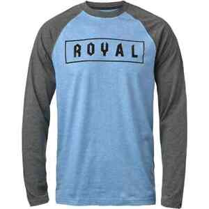Royal Core Box Long Sleeve Jersey - Blue/Black