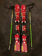 Atomic Kids Skis with bindings and poles 90cm