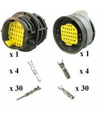 Genuino 4 vías//pin macho y hembra conector Delphi weatherpack Serie Kit