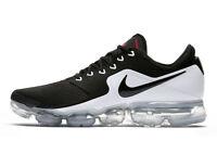 Nike Air Vapormax Mens Sz 10.5 11 Black White Metallic Silver Running AH9046-003