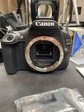 Canon EOS Rebel T5 / EOS 1200D 18.0MP Digital SLR Camera + extras! DSLR webcam