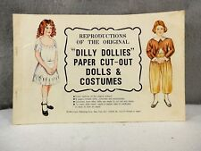 "Merrimack Pub., Reproductions ""Dilly Dollies"" Paper Cut-Outs, Uncut"