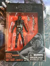 """Star Wars The Black Series Imperial Death Trooper 3 3/4"""" Action Figure"""