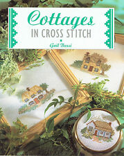 COTTAGES IN CROSS STITCH ~ 48 Page Soft Cover Book ~ DELIGHTFUL DESIGNS