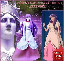 ATENA SAORI SANCTUARY ROBE APPENDIX, PLAIN CLOTH SAINT SEIYA MYTH CLOTH ATENEA