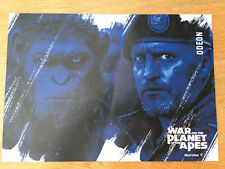 NEW ORIGINAL - WAR FOR THE PLANET OF THE APES - POSTER UK 2017 ODEON CINEMA
