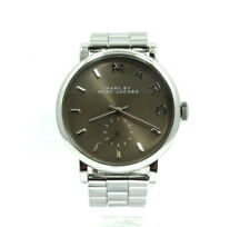 MARC by MARC JACOBS Stainless Steel Charcoal Brown Dial Watch MBM3329 111502